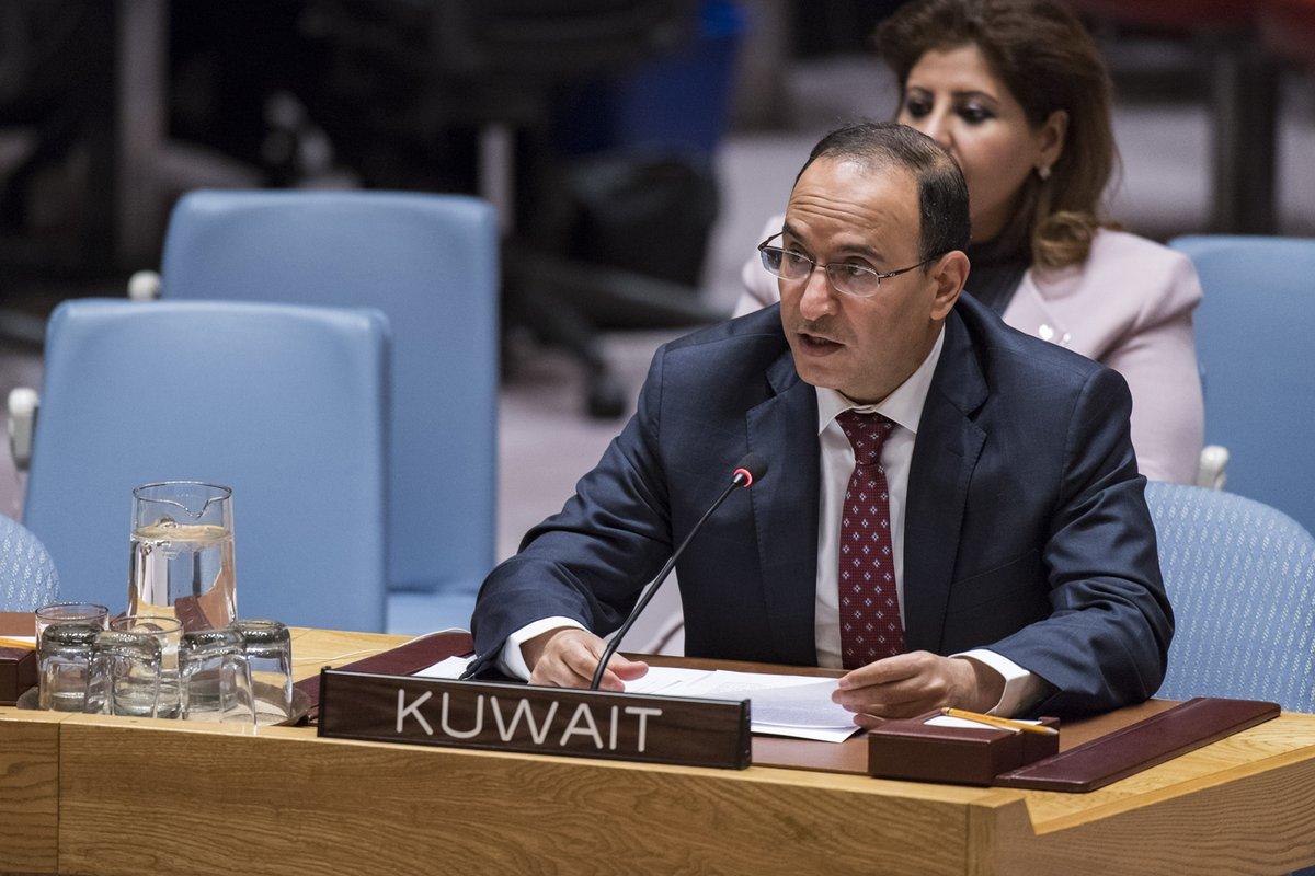 السفير منصور العتيبي - «العتيبي»: الأمم المتحدة يصعب عليها مواجهة النزاعات بمفردها في بعض الحالات