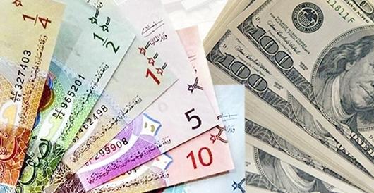 دولار دينار 1 - الدولار يستقر أمام الدينار عند 0.303 واليورو عند 0.343