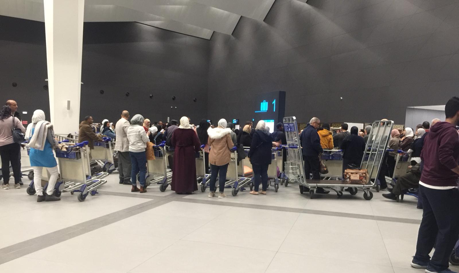 مطار الكويت زحمه - 8 دنانير رسوم على كل تذكرة سفر في مطار الكويت