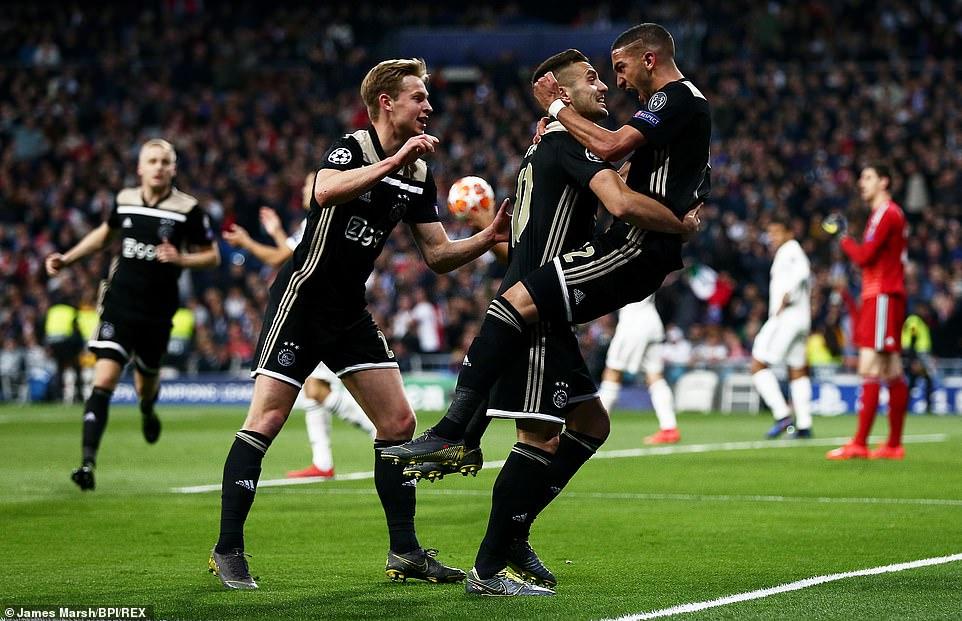 10618384 6774553 image m 5 1551817177397 - أياكس يذل ريال مدريد برباعية وينهي سيطرته على دوري أبطال أوروبا
