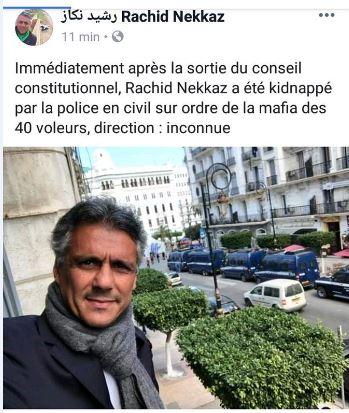 1111111 - فضيحة ...خطف المترشح للرئاسة الجزائرية رشيد نكاز وظهور شخص آخر بنفس الإسم !!