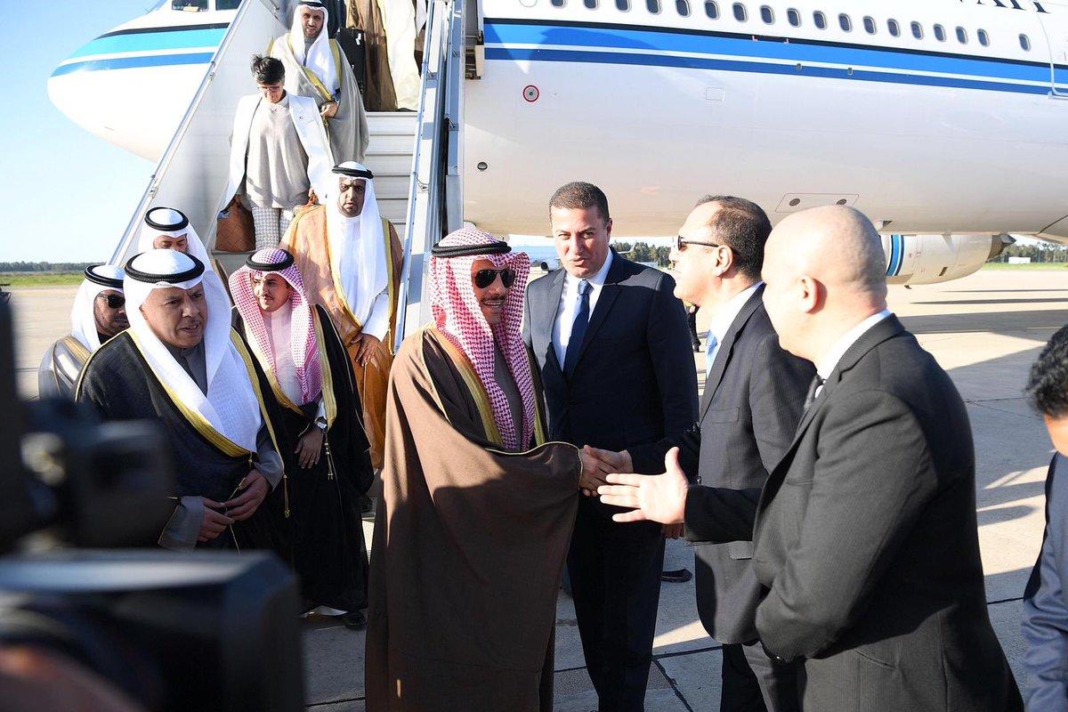 12 - الغانم يصل الرباط للمشاركة بالدورة الـ14 لمؤتمر اتحاد مجالس دول منظمة التعاون الإسلامي