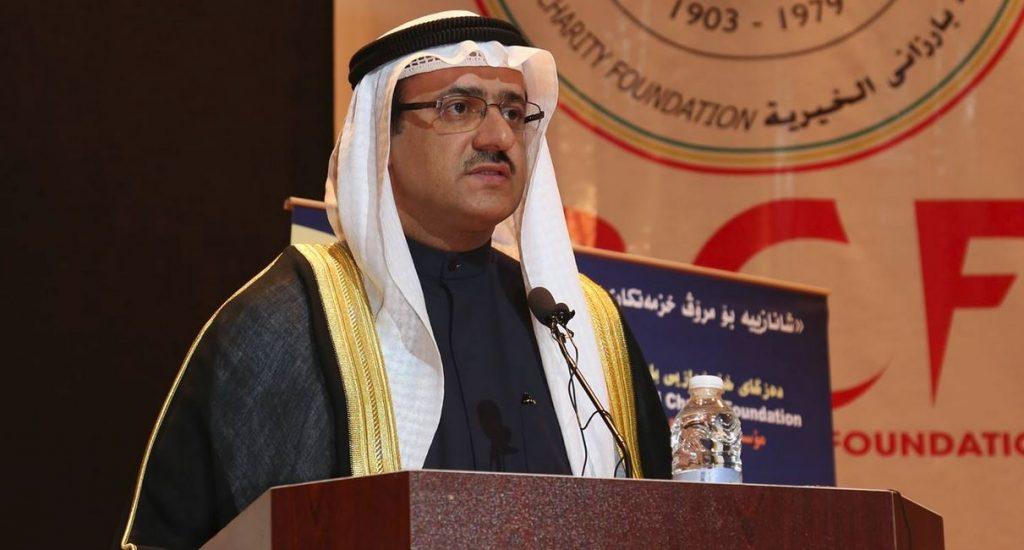 Capture 20 1024x550 - قنصل الكويت في أربيل يؤكد توزيع 30 طنا من المواد الغذائية على العائلات في حلبجة