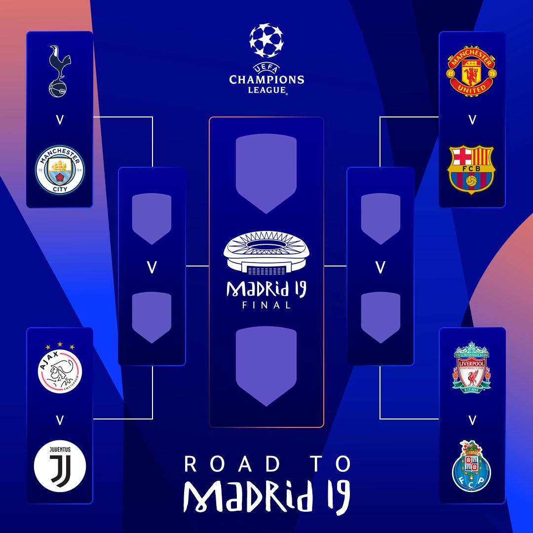D1skuNOWwAE8kDt - مواجهات نارية في قرعة ربع نهائي دوري أبطال أوروبا