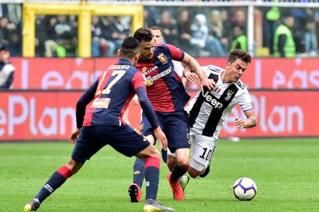 fdd18 - يوفنتوس يتجرع أول هزيمة له في الدوري الإيطالي أمام جنوى