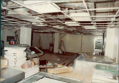 الاضرار التي احدثها الاحتلال في مبنى صحيفة الأنباء