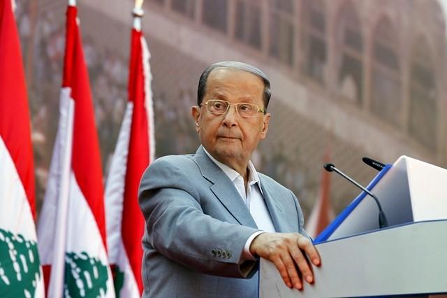الرئيس اللبناني ميشال عون - عون يطلب مساعدة الدول العربية للنهوض بالاقتصاد اللبناني مجددًا