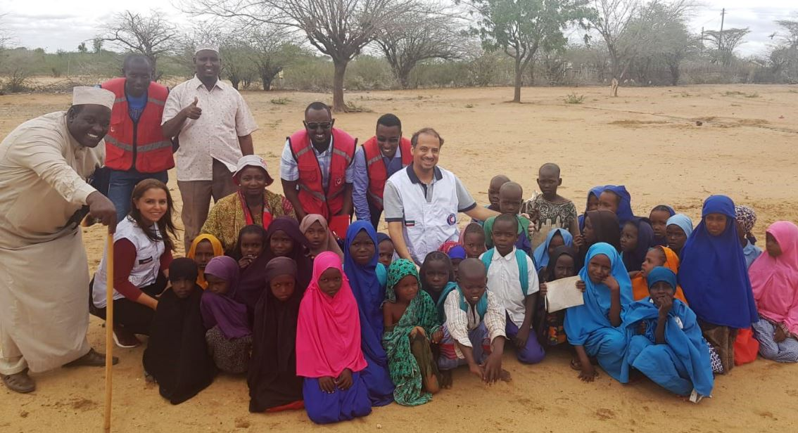 Capture 6 - الهلال الأحمر الكويتي: افتتاح مشروع ترميم لمرافق المياه في كينيا