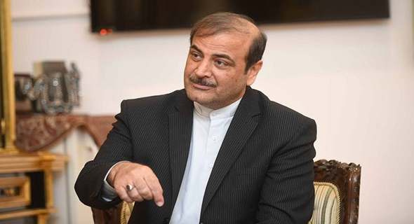 لقفف5ف - السفير الإيراني بالبلاد: نتطلع لوساطة كويتية للمّ شمل دول المنطقة