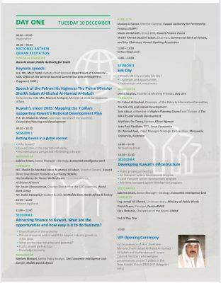 الدعوة 312x400 - مؤتمر كويت جديدة بلا كويتيين..بقلم بدور المطيري