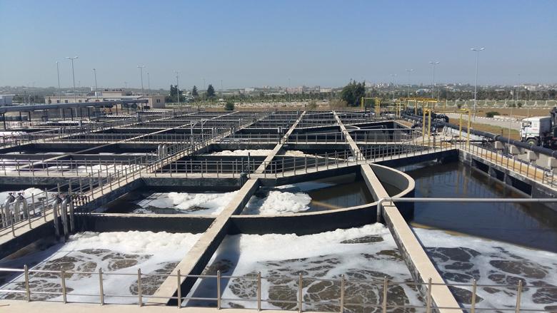 mena wbg gaza sewage - بتمويل كويتي....افتتاح محطة معالجة مياه الصرف الصحي في غزة