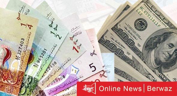 الدولار 3 1 - استقرار الدولار الأمريكي أمام الدينار عند 0.302 واليورو يصعد إلى 0.366
