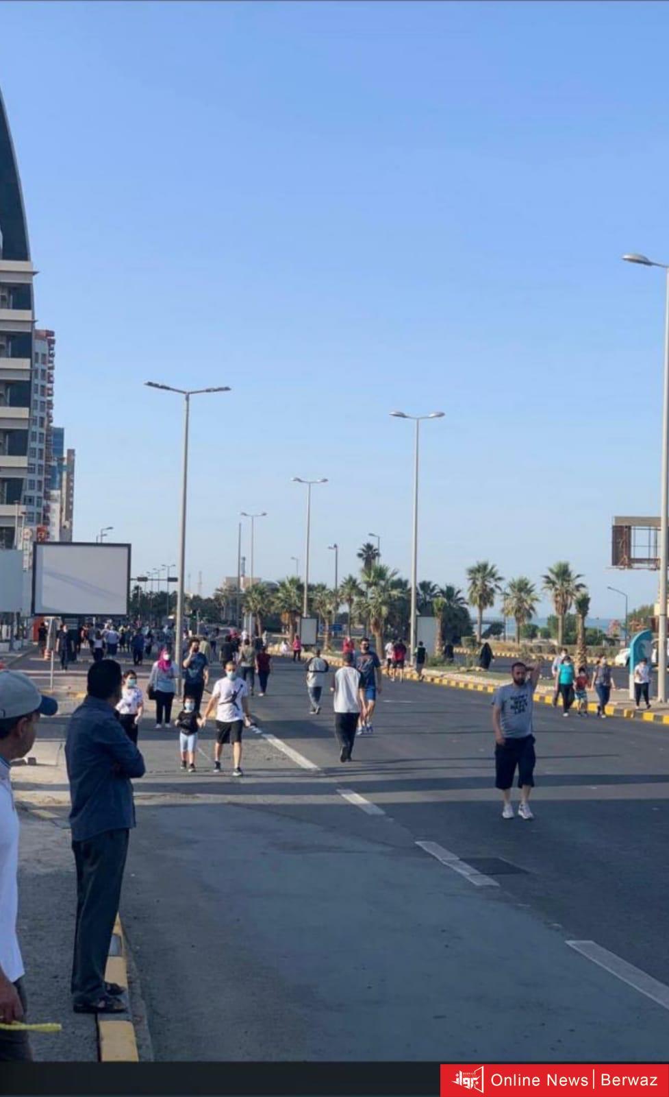 IMG 20200511 WA0050 - صور وفيديو.. مواقع التواصل تتطالب بإلغاء فترة ممارسة المشي بعد رصد مخالفات عديدة