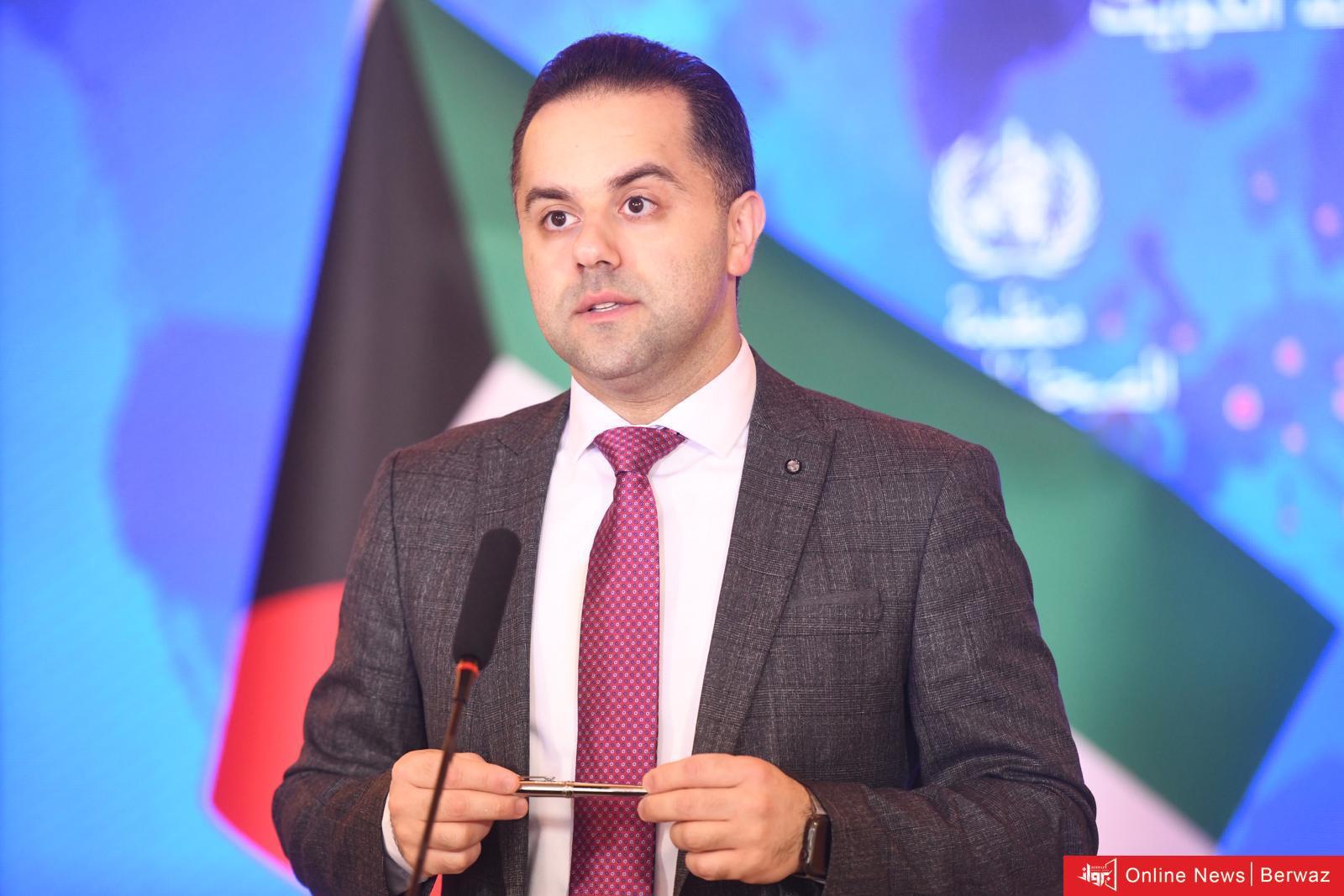 الناطق باسم وزارة الصحة في الكويت اليوم