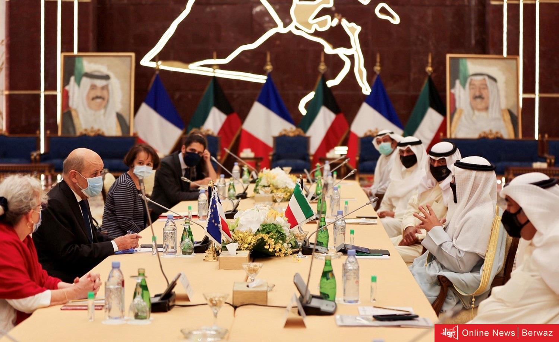 20200716105354523 1 - آليات التعاون المشترك لمواجهة جائحة كورونا على طاولة مباحثات رسمية كويتية فرنسية