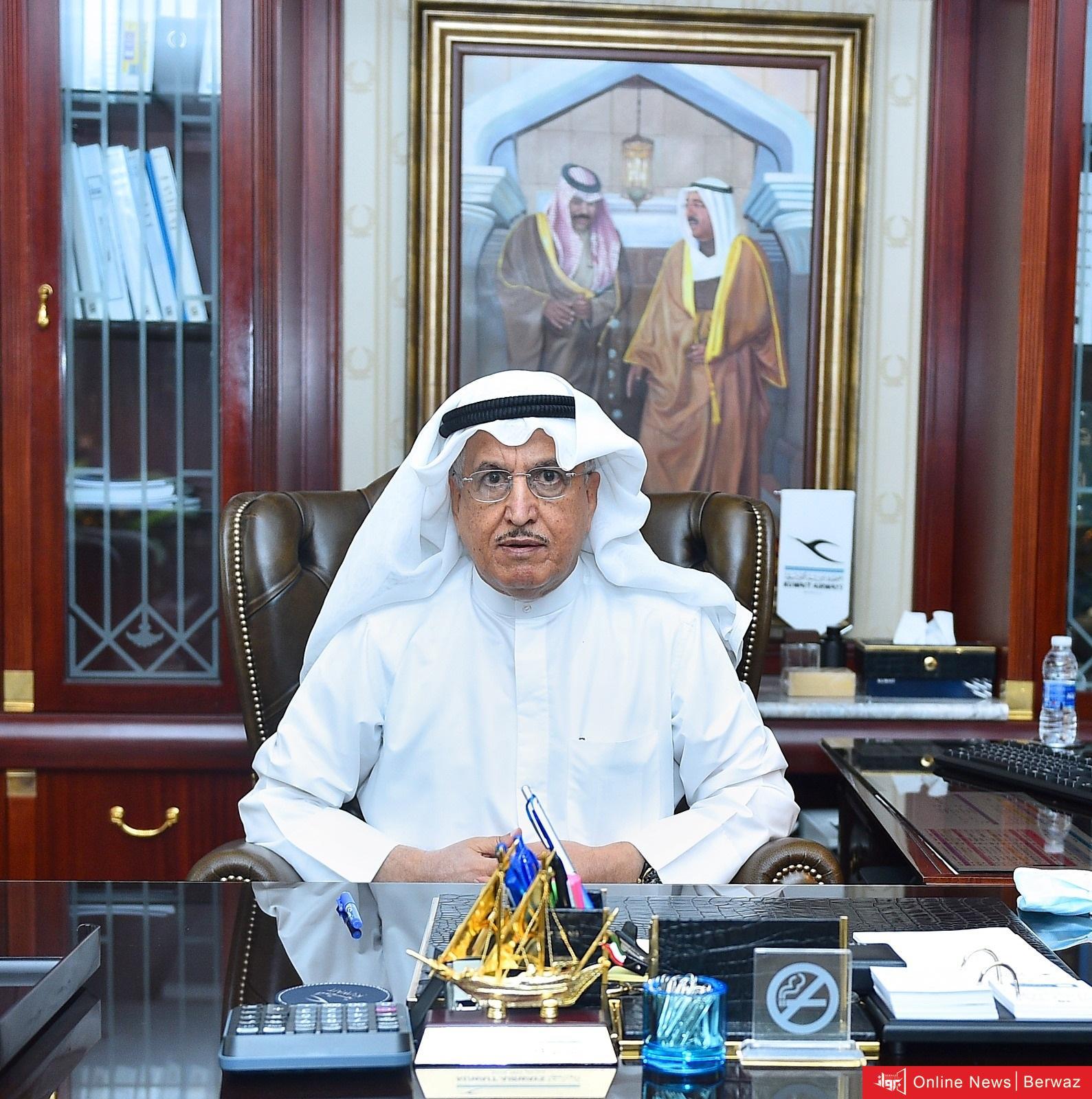 """1 2 - رسميا  مجلس إدارة """"الكويتية"""" يختار المستشار فيصل الغريب نائبا لرئيس خلال إجتماعهم الأول"""