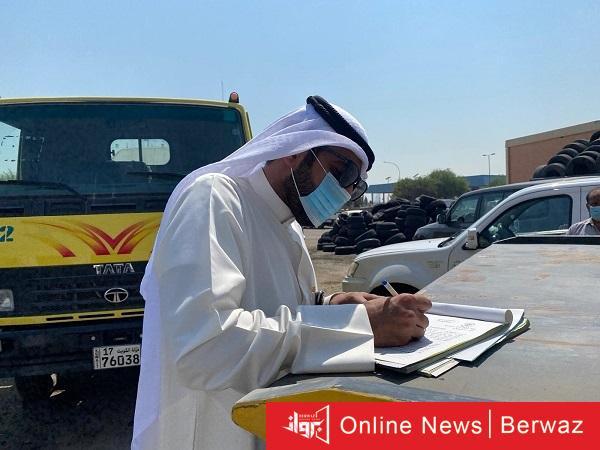 2 - 35 سيارة مهملة و 6 قوارب و 40 ملصق على سيارات مخالفة حصيلة حملة النظافة والسلامة