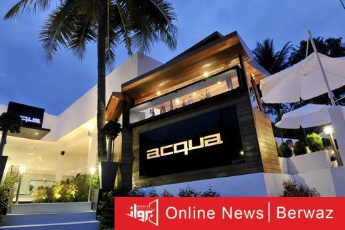 Aqua 1 - مطعم Acqua الأسلوب الرائع والتصميم الأنيق