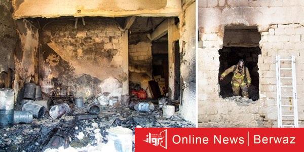 Eg5xGd4X0AAK1wJ - السيطرة على حريق بيت عربي في جليب الشيوخ.. المكان يستخدم منجرة ومخزنا للأخشاب والأصباغ