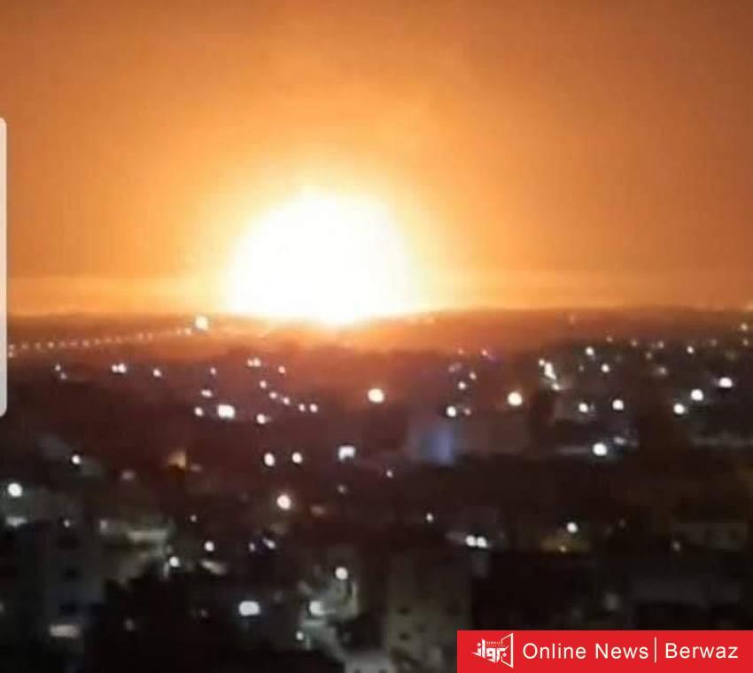 imgid474458 - الطقس الحار يفجر مستودع ذخائر بالأردن