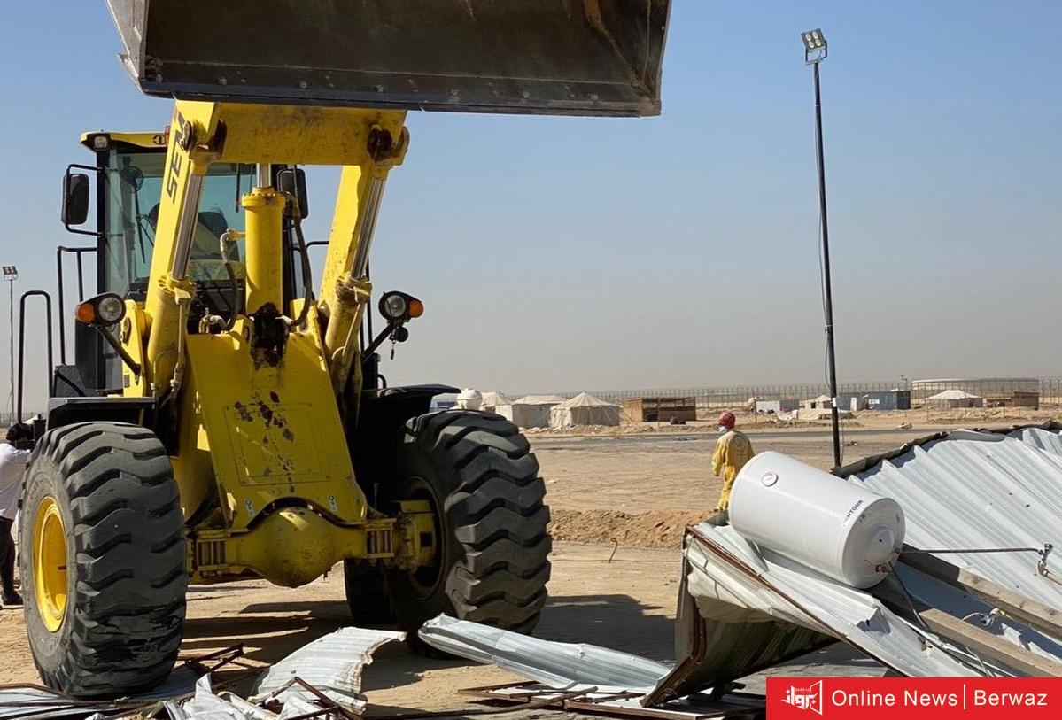 2 3 - البلدية تطلق حملة إزالة للمخيمات الربيعية