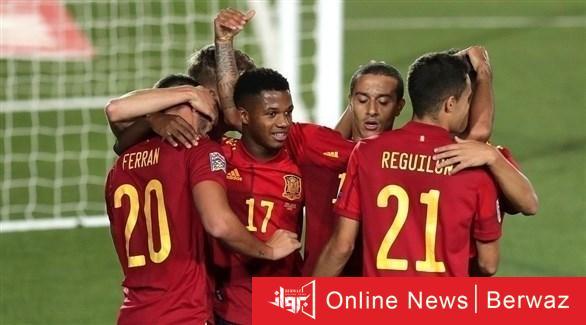 202010109449352FO - إسبانيا وسويسرا على قمة أبرز المباريات العربية والعالمية اليوم السبت