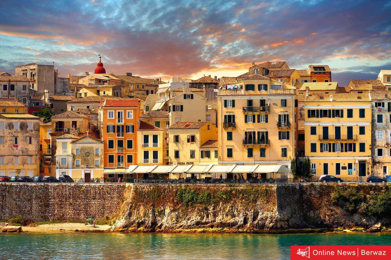 Corfu Island - جزيرة كورفو سحر عالمى متعدد الثقافات