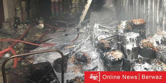 YZQNQvsO - الإطفاء: إخماد حريق مخزن مواد غذائية في «الشويخ الصناعية»