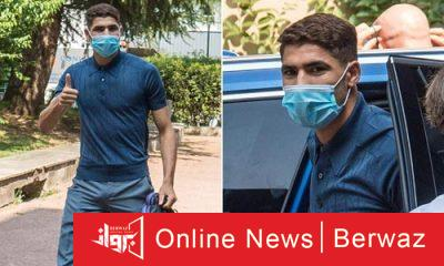 achraf hakimi2 400x240 - إصابة المغربى حكيمى لاعب إنتر ميلان بالكورونا