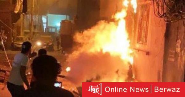 jm0u8 - إنفجار غاز ضخم في إيران يسوي مبنى بالأرض