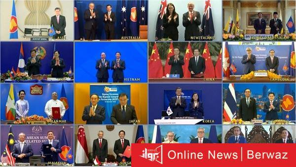 أكبر إتفاقية تجارية فى العالم - توقيع أكبر إتفاقية تجارية فى العالم عبر تقنية الفيديو