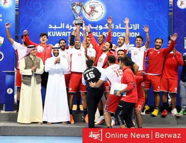 نادي الكويت 1 - نادى الكويت بطلا لكأس السوبر المحلى لكرة اليد