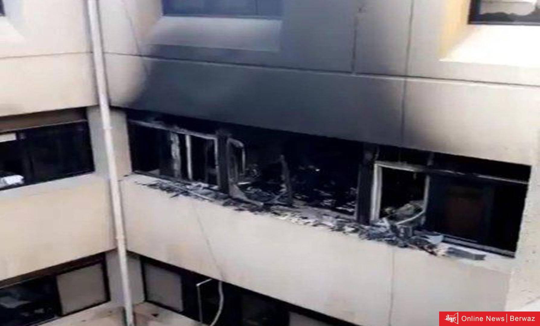 22 421692 highres - «الصحة» تعلن إخماد حريق نشب في إحدى غرف ديوان عام الوزارة