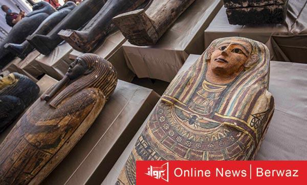Egyptian Saqqara - كشف أثرى ضخم جديد فى منطقة الأهرامات بمصر