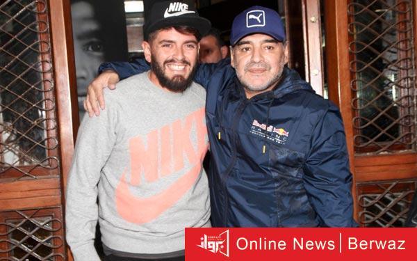 Maradona 1 - إصابة نجل الأسطورة مارادونا بفيروس كورونا