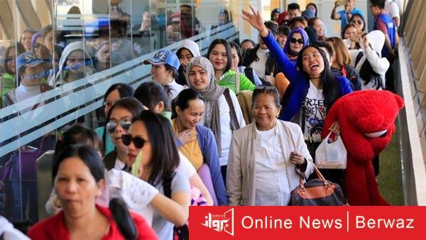 Philippine - السفارة الفلبينية في الكويت تكافح الطلبات المتراكمة
