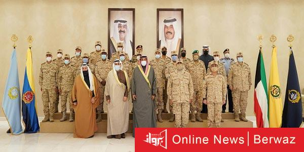 رئيس مجلس الوزراء 3 - وزير الدفاع الكويتى يستقبل رئيس مجلس الوزراء بمقر وزارة الدفاع
