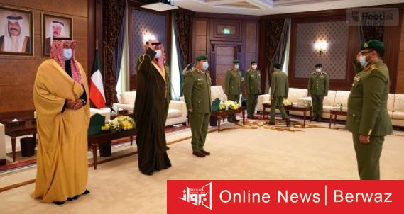 Eqj2xydXAAUcbS6 - الخالد: يمتدح الحرس الوطني ويصغه  بركيزة أساسية في منظومة الأمن والدفاع.