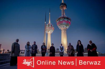 أبراج الكويت 400x265 - أبراج الكويت تتجمل بالإضاءة ونقوش فن السدو حتى نهاية الشهر