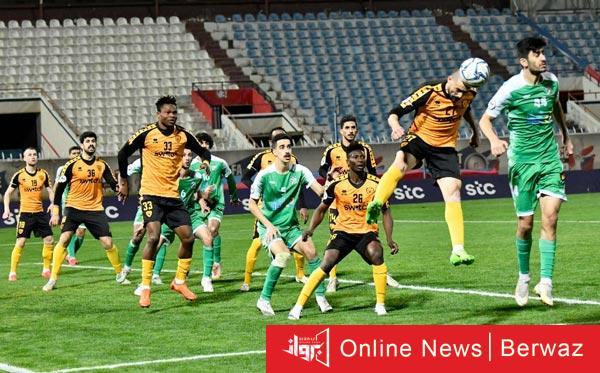القادسية والتضامن - تأهل القادسية والتضامن للدور نصف النهائي من كأس سمو ولي العهد