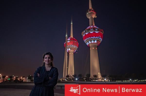 بيبي الصباح - أبراج الكويت تتجمل بالإضاءة ونقوش فن السدو حتى نهاية الشهر