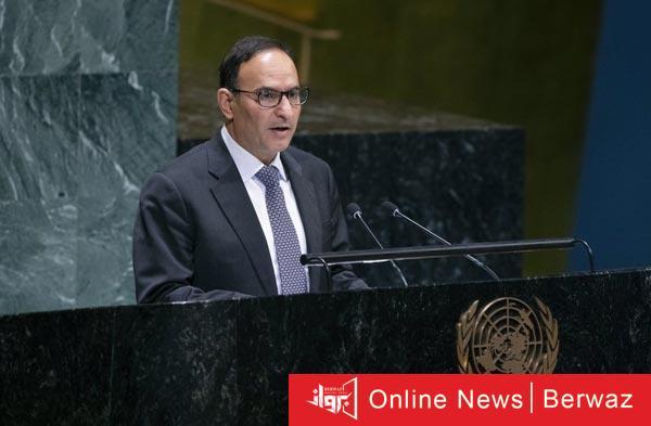 منصور العتيبي - الكويت تطالب بمقعد دائم للدول العربية فى مجلس الأمن