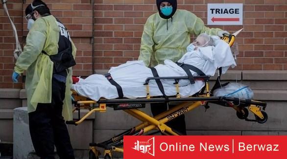 نقل مصاب بكورونا في الولايات المتحدة أرشيف - وفيات كورونا في أمريكا تتجاوز 347 ألفاً