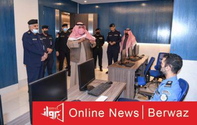 وزير الداخلية الكويتي2 400x254 - جولة ميدانية لوزير الداخلية الكويتى داخل قطاع أمن المنافذ
