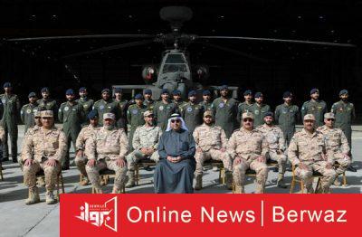 ووزير الدفاع 2 400x262 - جولة تفقدية لوزير الدفاع لقواعد القوات الجوية الكويتية