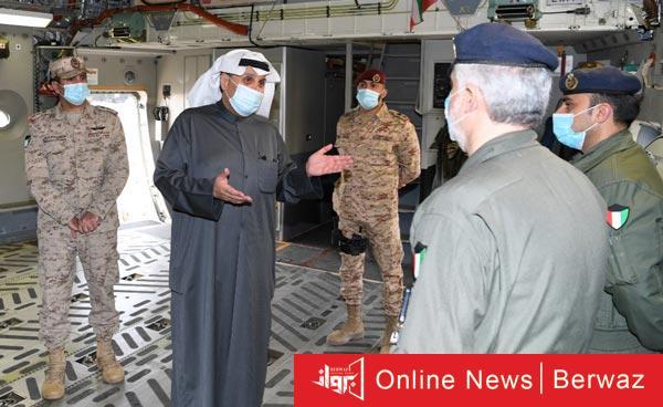 ووزير الدفاع - جولة تفقدية لوزير الدفاع لقواعد القوات الجوية الكويتية