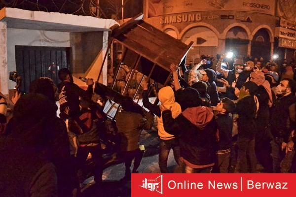 1 3 - إرتفاع حصيلة مصابي المواجهات بين محتجين وقوات الأمن في شمال لبنان إلى 45 جريح
