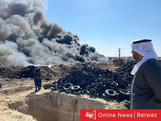1016740 1 - الشيخ عبدالله الأحمد يكشف حقيقة حريق «أرحية»: مبدئيًا بفعل فاعل