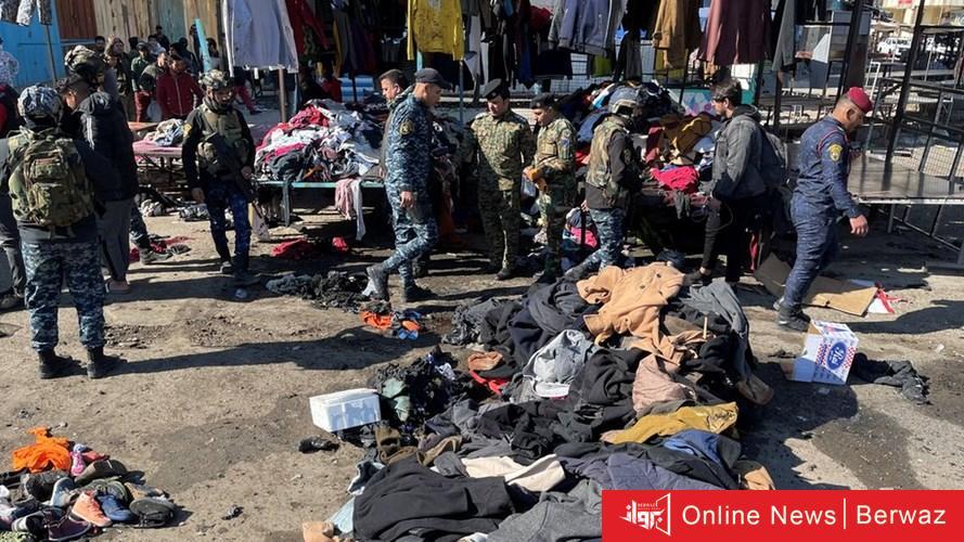 1018734 2 - تنظيم داعش يعلن مسؤوليته عن التفجير الانتحاري المزدوج في بغداد