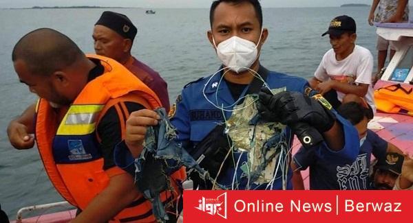 2 1 - الصور الأولى لحطام الطائرة الإندونيسية تكشف تفاصيل الكارثة